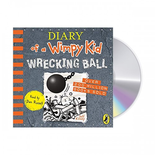 Diary of a Wimpy Kid #14 : Wrecking Ball (Audio CD, 영국판)