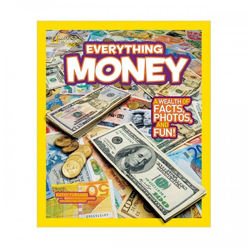 National Geographic Kids Everything Money: A wealth of facts, photos, and fun! (Paperback)