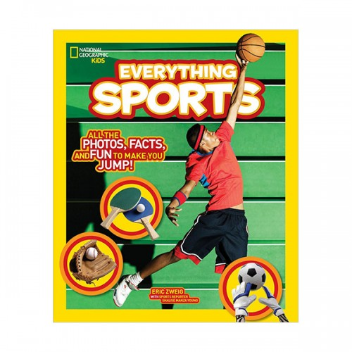 National Geographic Kids Everything Sports: All the Photos, Facts, and Fun to Make You Jump! (Paperback)