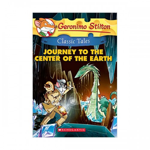 Geronimo : Classic Tales #09 : Journey to the Center of the Earth (Paperback)