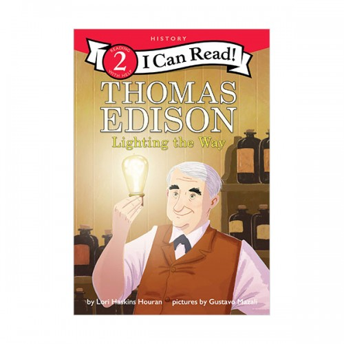 I Can Read 2 : Thomas Edison : Lighting the Way (Paperback)