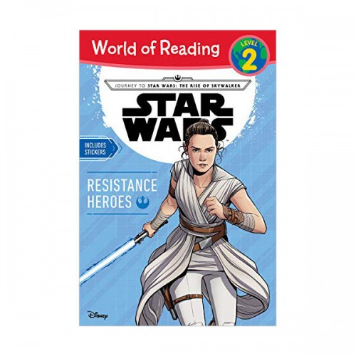World of Reading 2 : Journey to Star Wars : The Rise of Skywalker Resistance Heroes (Paperback)
