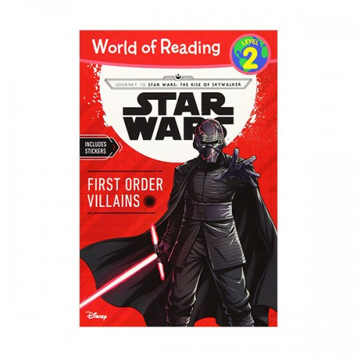 World of Reading 2 : Journey to Star Wars : The Rise of Skywalker First Order Villains (Paperback)