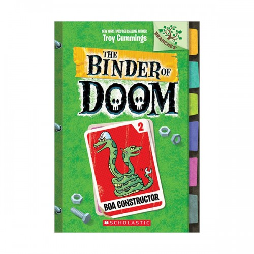 The Binder of Doom #02 : Boa Constructor (Paperback)