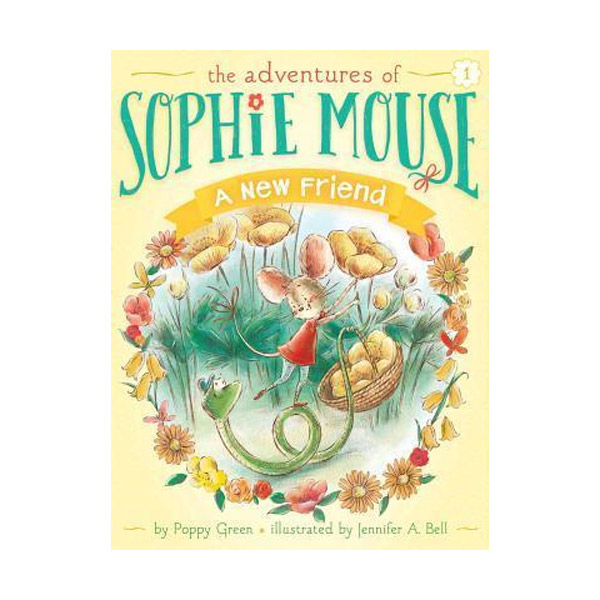 RL 3.4 : The Adventures of Sophie Mouse #01 : A New Friend (Paperback)