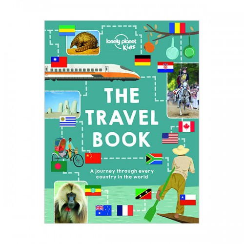 Lonely Planet Kids : Travel Book (Hardcover)