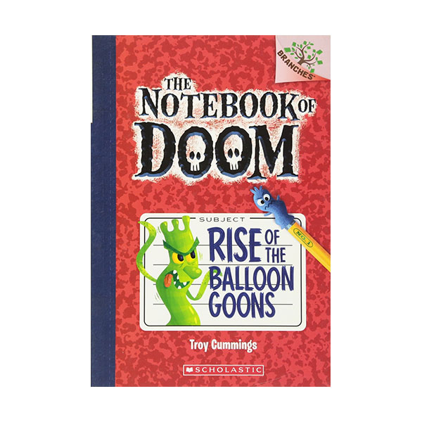 The Notebook of Doom #01 : Rise of the Balloon Goons (Paperback)