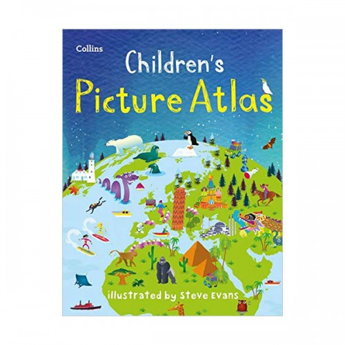 Collins Children's Picture Atlas (Hardcover, 영국판)