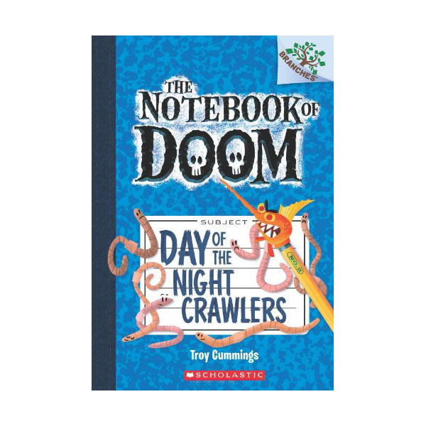 The Notebook of Doom #02 : Day of the Night Crawlers (Paperback)