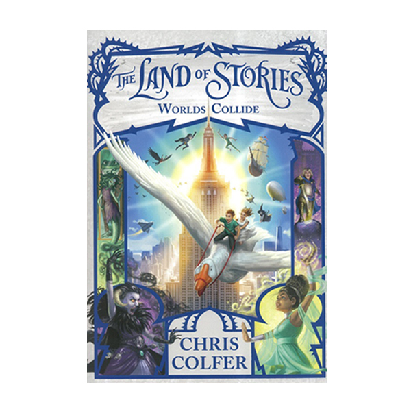 The Land of Stories #06 : Worlds Collide (Paperback)