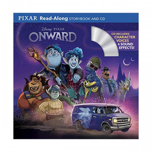 Pixar Read-Along Storybook : Onward : 온워드 (Book & CD)