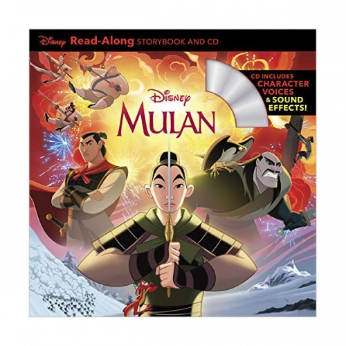 Disney Read-Along Storybook : Mulan : 뮬란 (Book & CD)
