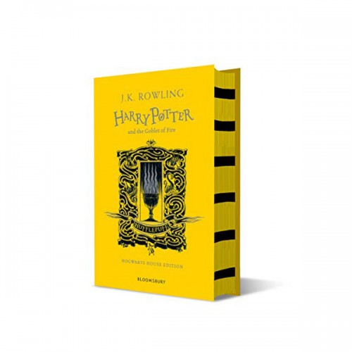 [기숙사판/영국판] 해리포터 #04 : Harry Potter and the Goblet of Fire - Hufflepuff Edition (Hardcover)
