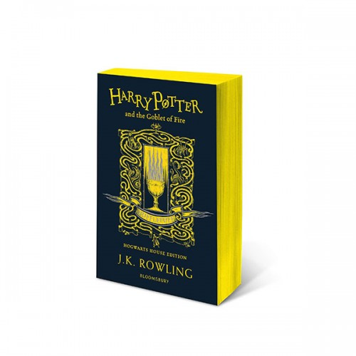 [기숙사판/영국판] 해리포터 #04 : Harry Potter and the Goblet of Fire - Hufflepuff Edition (Paperback)