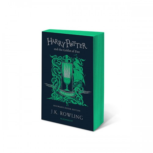 [기숙사판/영국판] 해리포터 #04 : Harry Potter and the Goblet of Fire - Slytherin Edition (Paperback)