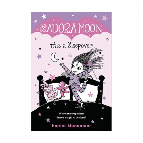 Isadora Moon (7) Has a Sleepover (paperback) (US)