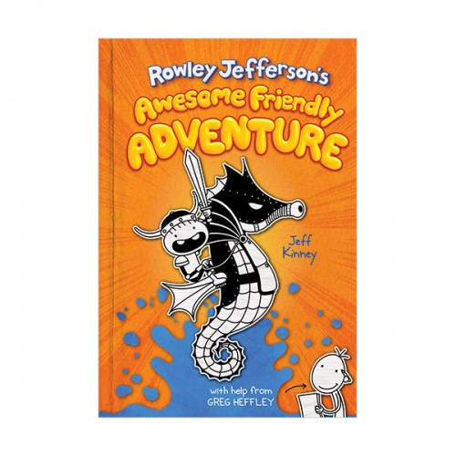 Rowley Jefferson #02 : Rowley Jefferson's Awesome Friendly Adventure (Hardcover, 미국판)