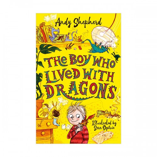 The Boy Who Grew Dragons #02 :  The Boy Who Lived with Dragons (Paperback, 영국판)