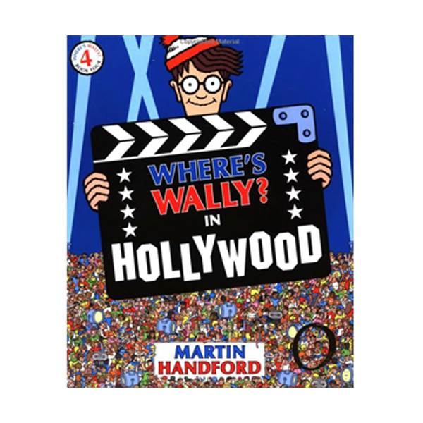 Where's Wally? #04 : In Hollywood (Paperback, 영국판)