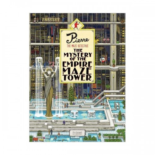 Pierre The Maze Detective : The Mystery of the Empire Maze Tower (Hardcover, 영국판)