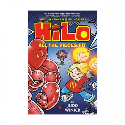 Hilo Book #06 : All the Pieces Fit (Hardcover)
