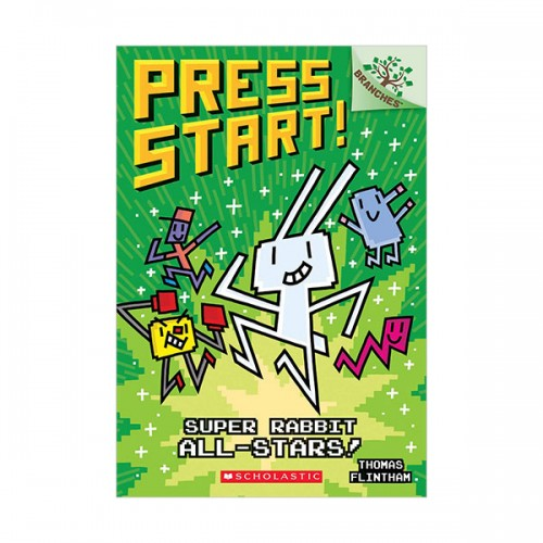 Press Start! #08 : Super Rabbit All-Stars! (Paperback)