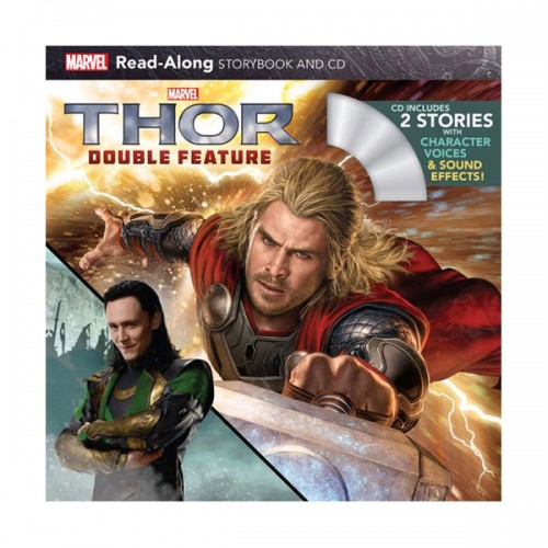Marvel Read-Along Storybook : Thor Double Feature : 토르 (Book & CD)