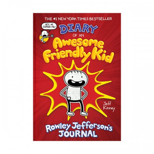Diary of an Awesome Friendly Kid : Rowley Jefferson's Journal (Paperback, 미국판)