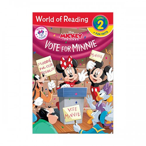 World of Reading Level 2 :  Vote for Minnie (Paperback)