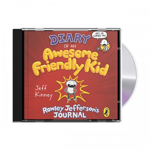 Diary of an Awesome Friendly Kid (Audio CD, 영국판) (도서미포함)