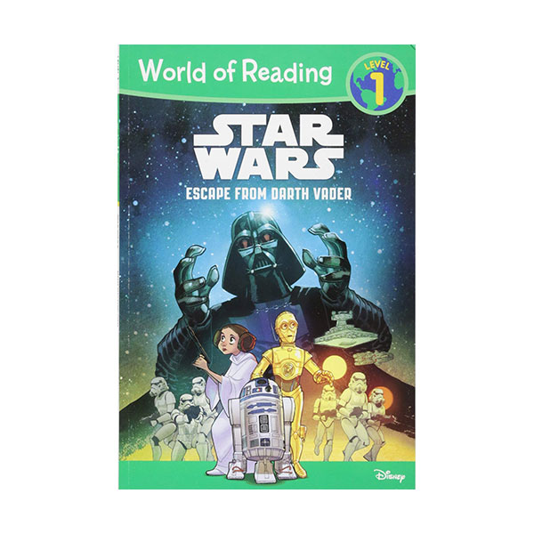 World of Reading 1 : Star Wars : Escape from Darth Vader (Paperback)