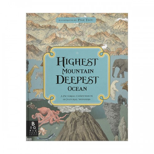 Highest Mountain, Deepest Ocean (Hardcover, 영국판)