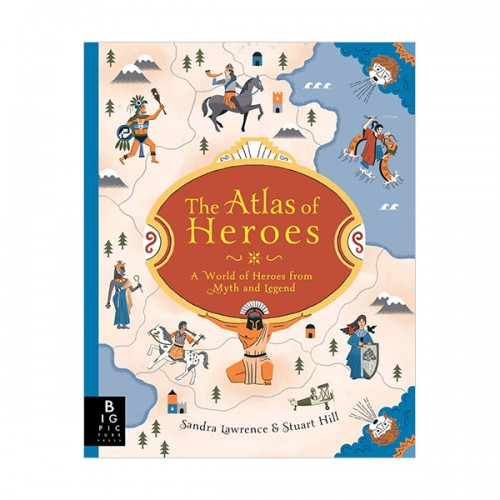 The Atlas of Heroes (Hardcover, 영국판)