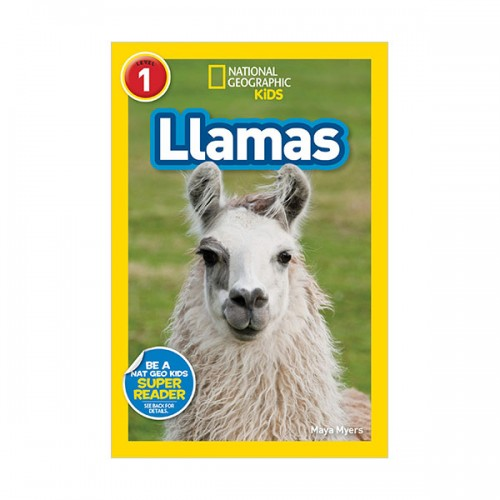 National Geographic Kids Readers Level 1 : Llamas (Paperback)