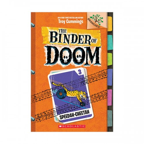 The Binder of Doom #03 : Speedah-Cheetah (Paperback)
