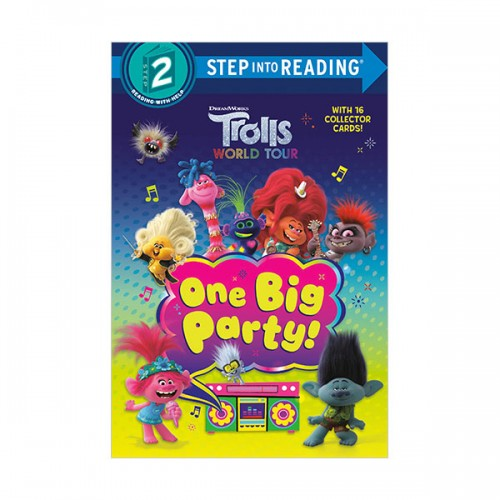 Step into Reading 2 : Trolls World Tour : One Big Party! (Paperback)