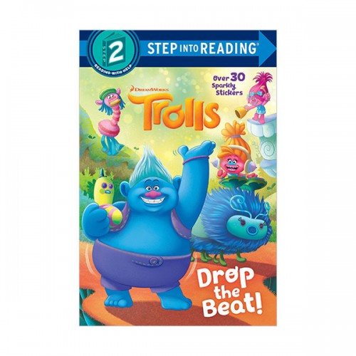 Step into Reading 2 : DreamWorks Trolls : Drop the Beat! (Paperback)