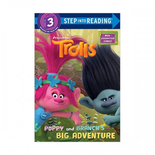 Step into Reading 3 : DreamWorks Trolls : Poppy and Branch's Big Adventure (Paperback)