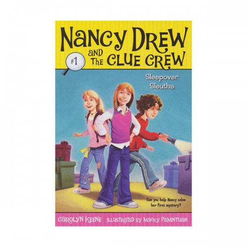 Nancy Drew and the Clue Crew #01 : Sleepover Sleuths (Paperback)