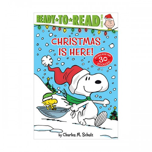 Ready to Read 2 : Peanuts : Christmas Is Here! (Paperback)
