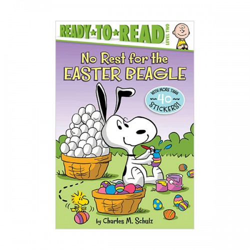 Ready to Read 2 : Peanuts : No Rest for the Easter Beagle (Paperback)