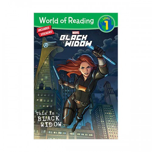 World of Reading Level 1 : This Is Black Widow (Paperback)