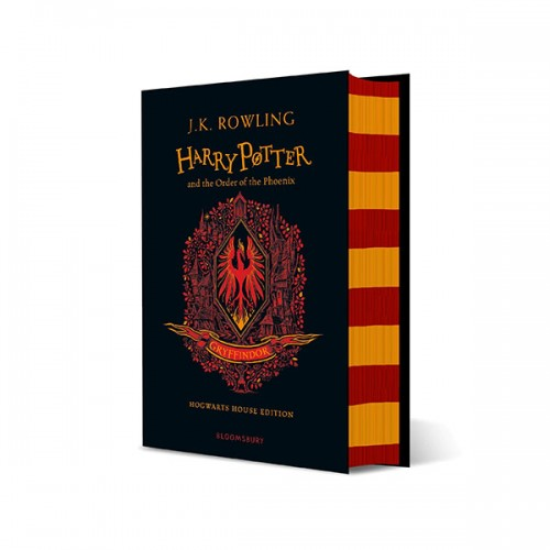 ★스티커증정★[기숙사판/영국판] 해리포터 #05 : Harry Potter and the Order of the Phoenix : Gryffindor House Edition (Hardcover)