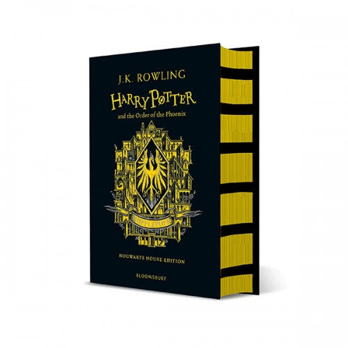 [기숙사판/영국판] 해리포터 #05 : Harry Potter and the Order of the Phoenix - Hufflepuff Edition (Hardcover)