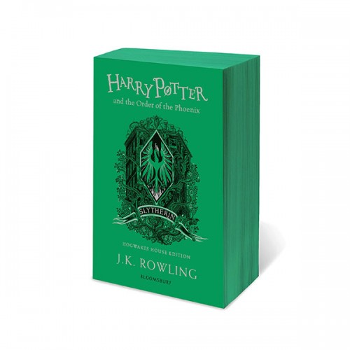 [기숙사판/영국판] 해리포터 #05 : Harry Potter and the Order of the Phoenix : Slytherin Edition (Paperback)