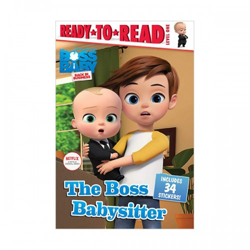 Ready to Read 1 : The Boss Baby TV : The Boss Babysitter (Paperback)