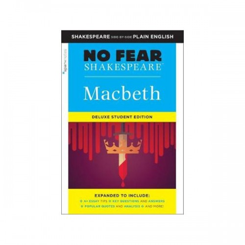[Grade 12/ AP Literature] No Fear Shakespeare #04: Macbeth: Deluxe Student Edition(Paperback)