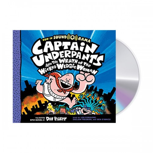 빤스맨 #05 : Captain Underpants and the Wrath of the Wicked Wedgie Woman (Audio CD, 도서별도구매)