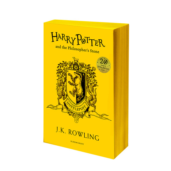 [기숙사판/영국판] Harry Potter and the Philosopher's Stone - Hufflepuff Edition (Paperback)