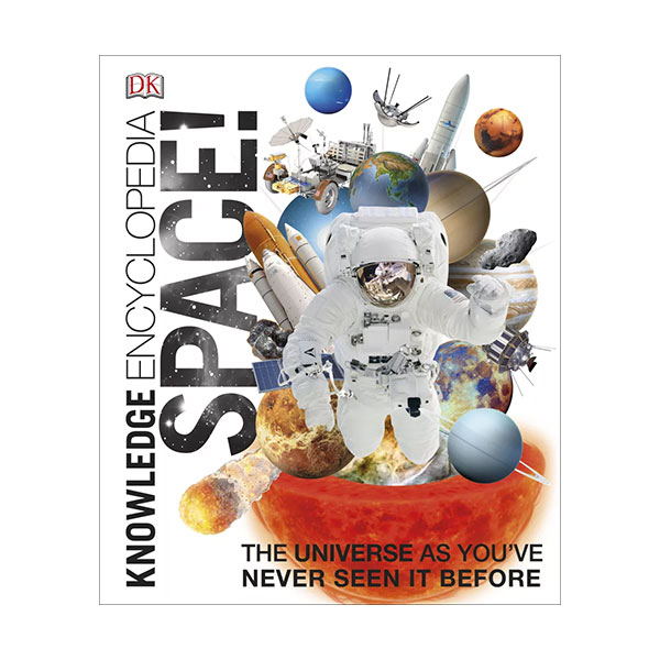 DK: Knowledge Encyclopedia Space! (Hardcover, 영국판)
